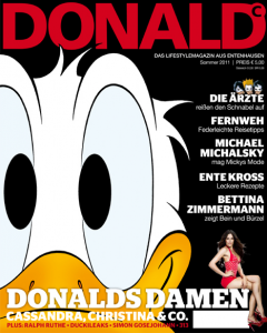 Cover des Donald-Magazins