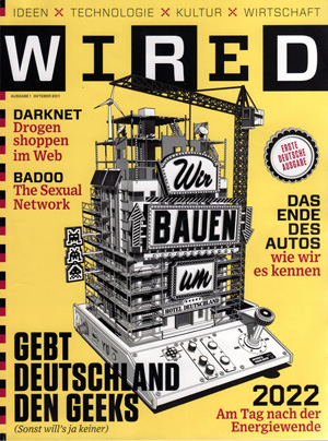 Cover der Wired