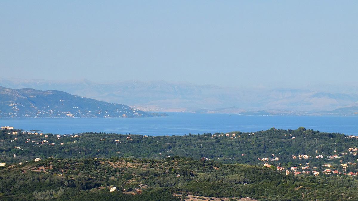 Aber insgesamt ist wie gesagt alles schon schön auf Korfu.