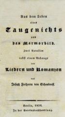 Aus dem Leben eines Taugenichts (Erstdruck 1826)