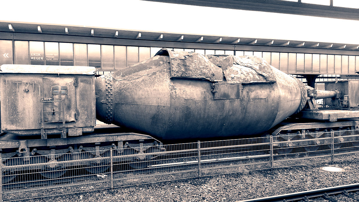 Das Ding am Oberhausener Hauptbahnhof