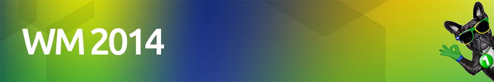WM 2014 bei 1ppm
