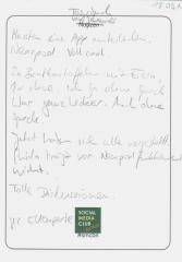 Tagebuch vom Social Media Club Bonn