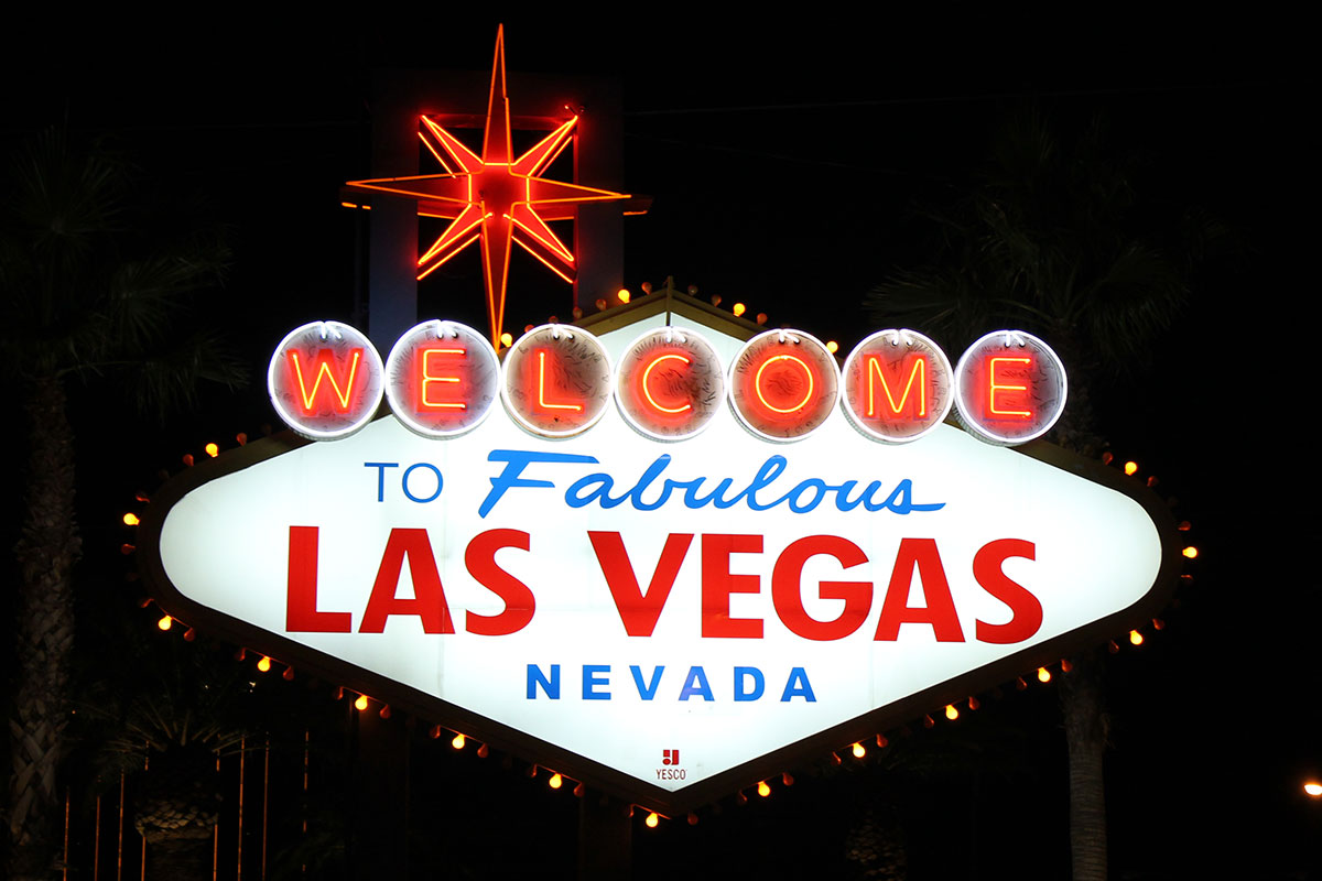 Welcome-Schild Las Vegas