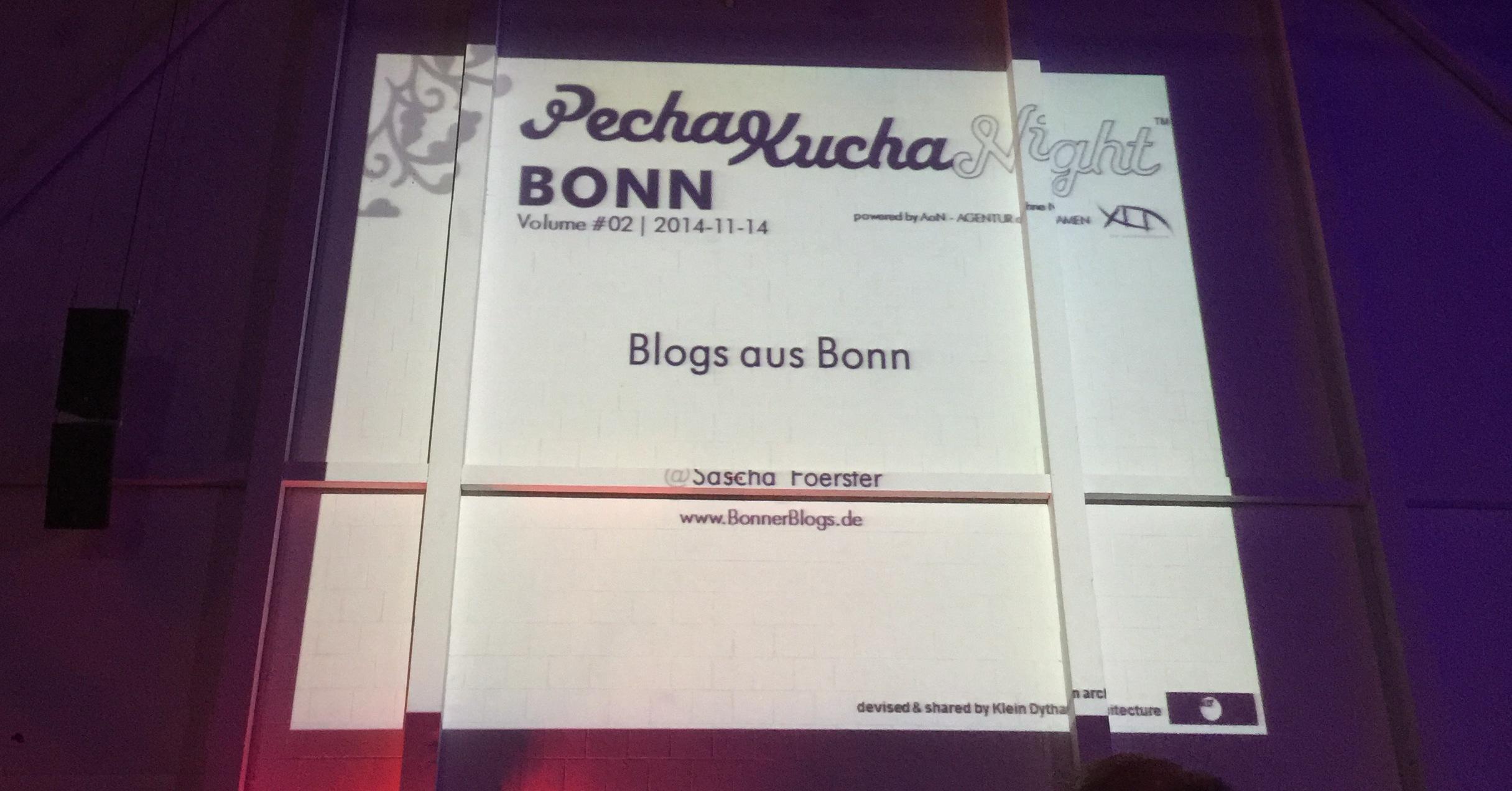 PechaKucha Bonn