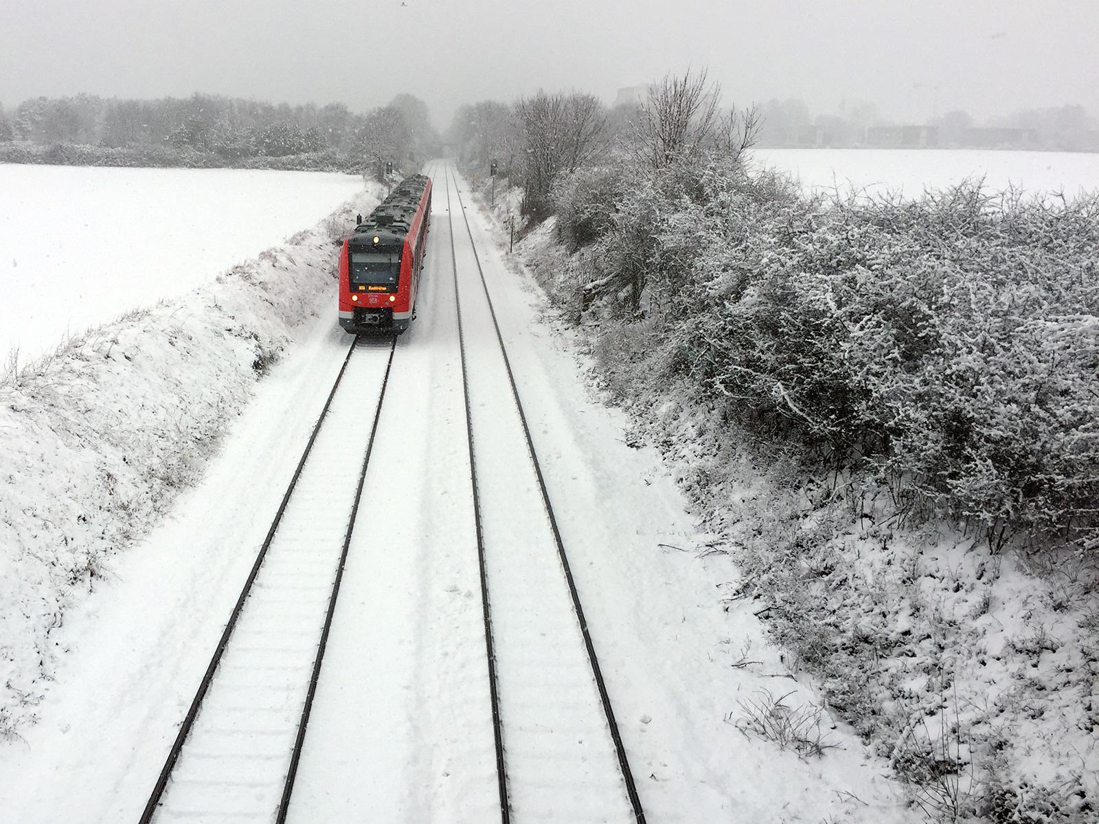 Schnee in Bonn 2015