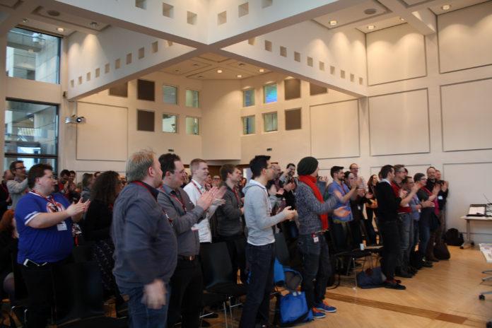 Standing ovations beim BarCamp Bonn