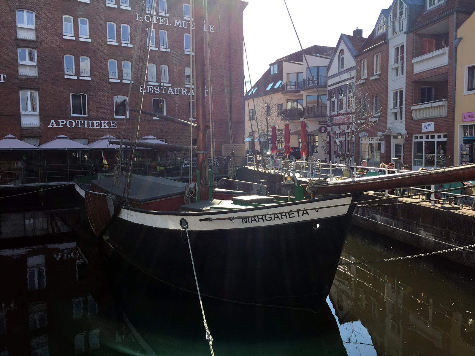 Schiff in Buxtehude