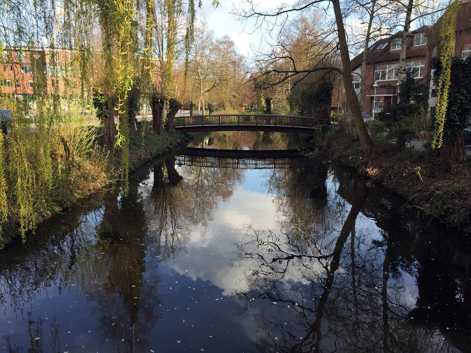 Brücke in Buxtehude