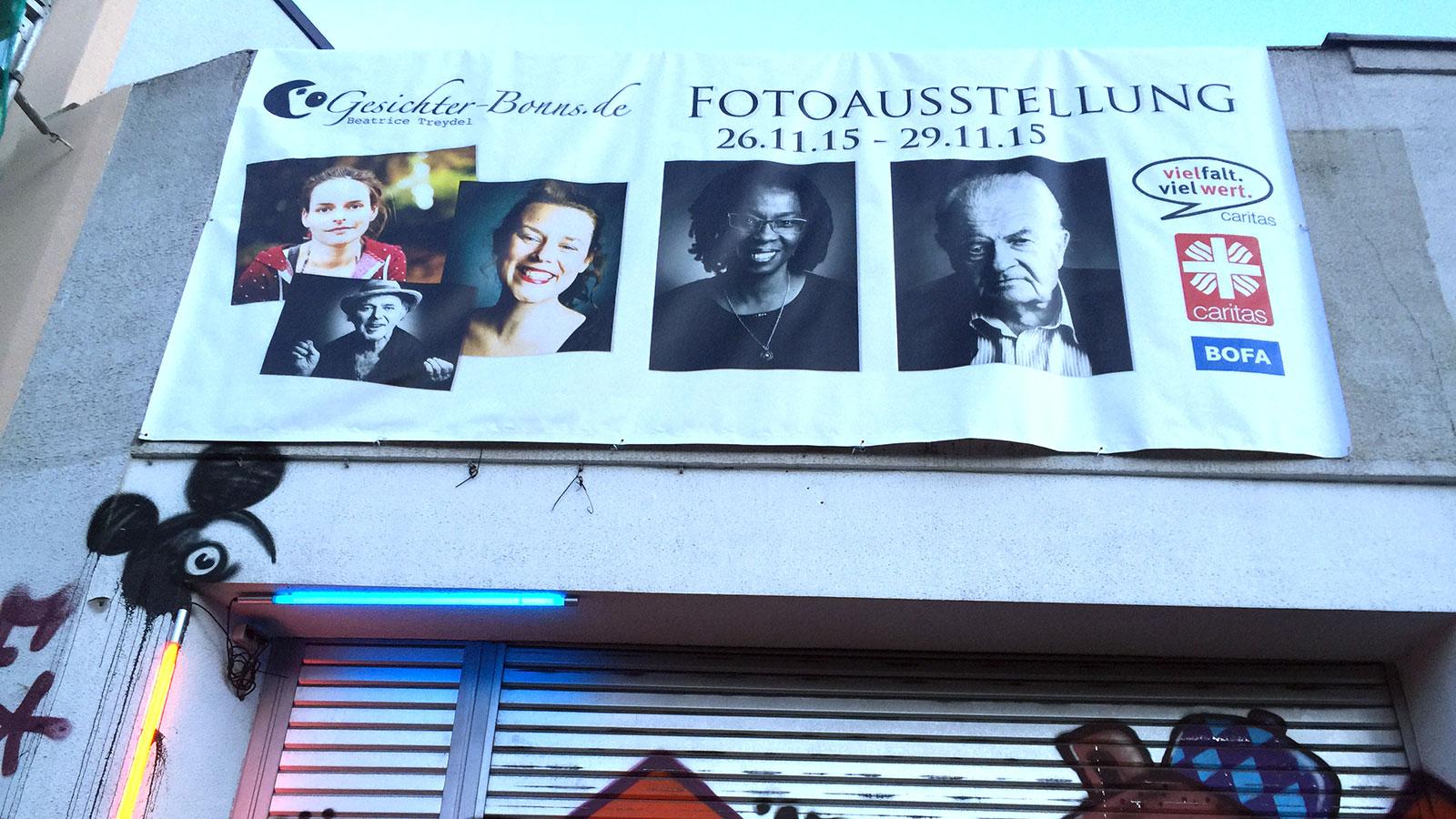 "Ausstellung ""Gesichter Bonns"" in der Fabrik 45"