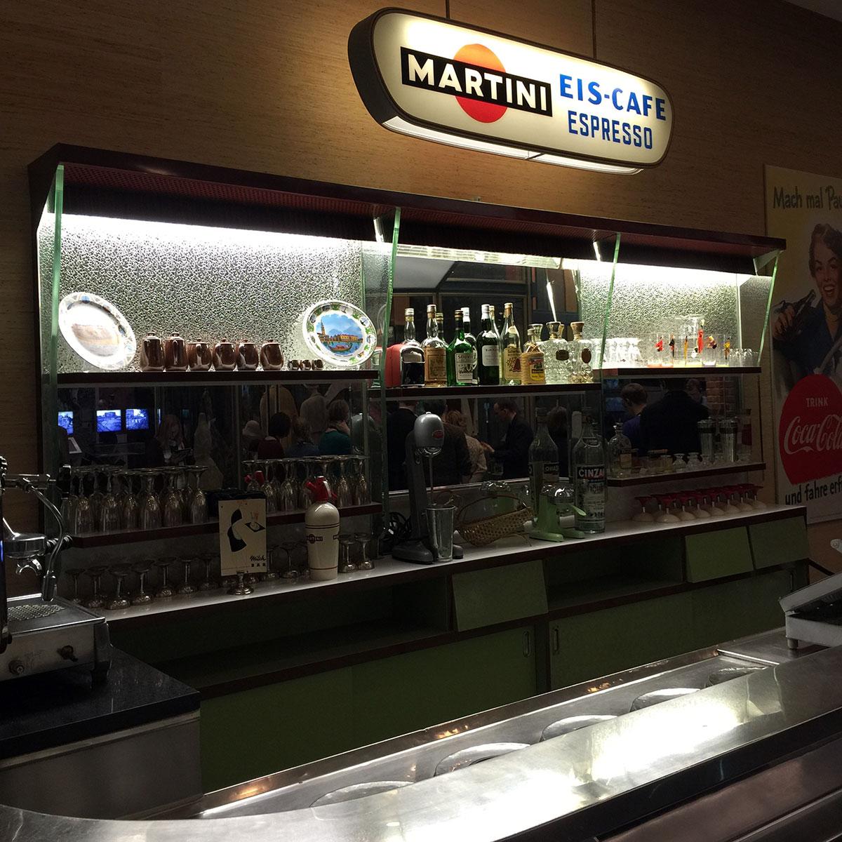 Eiscafé im Haus der Geschichte Bonn