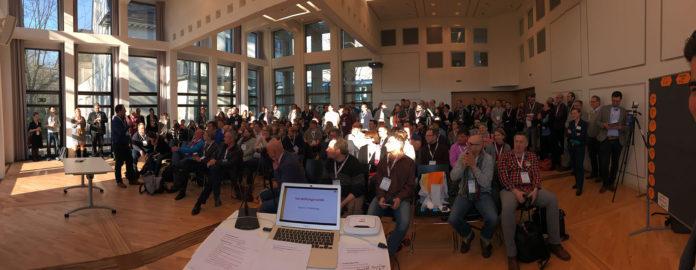 Vorstellungsrunde beim BarCamp Bonn 2016