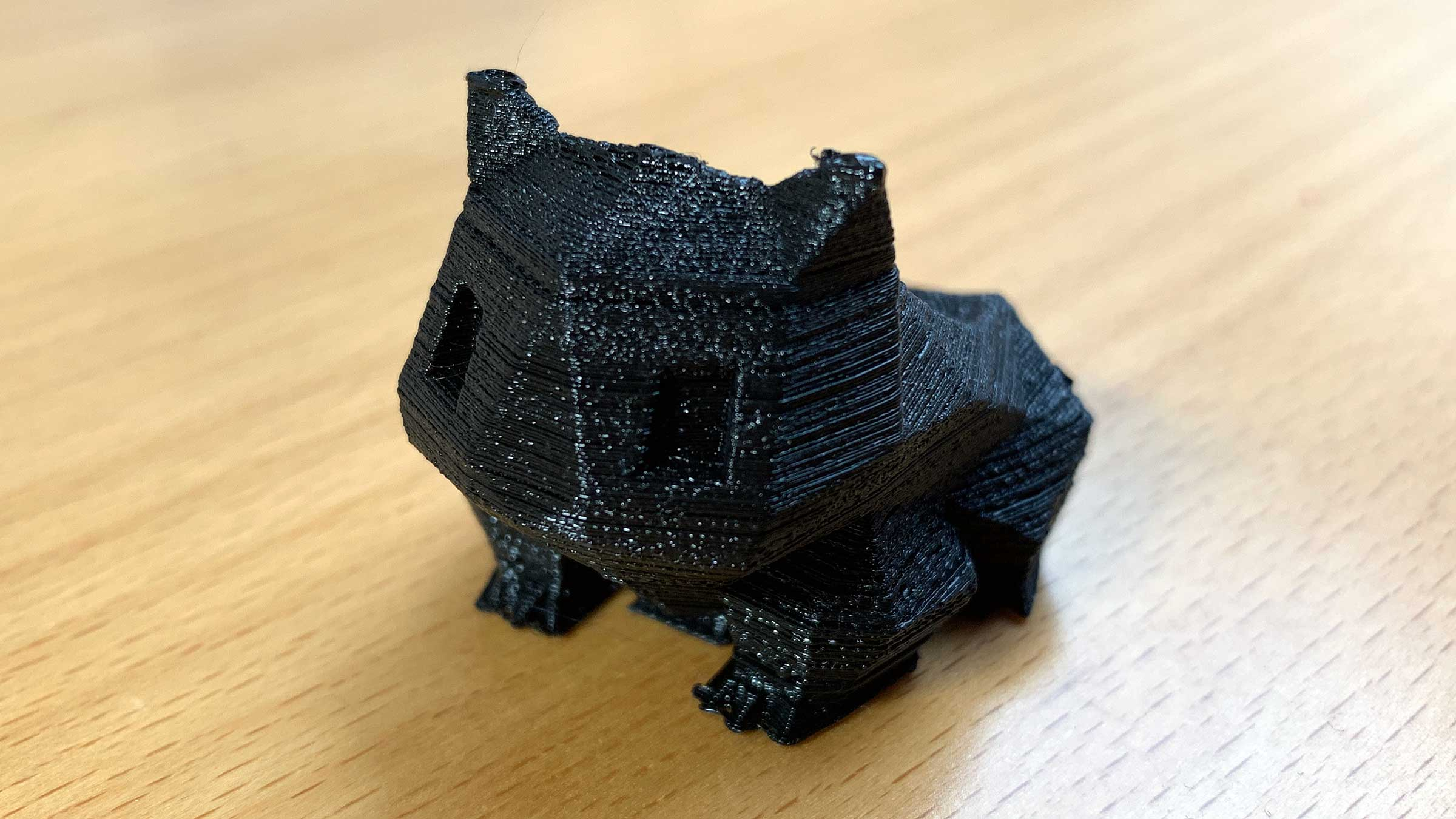 Ein 3D-Saurier-Topf