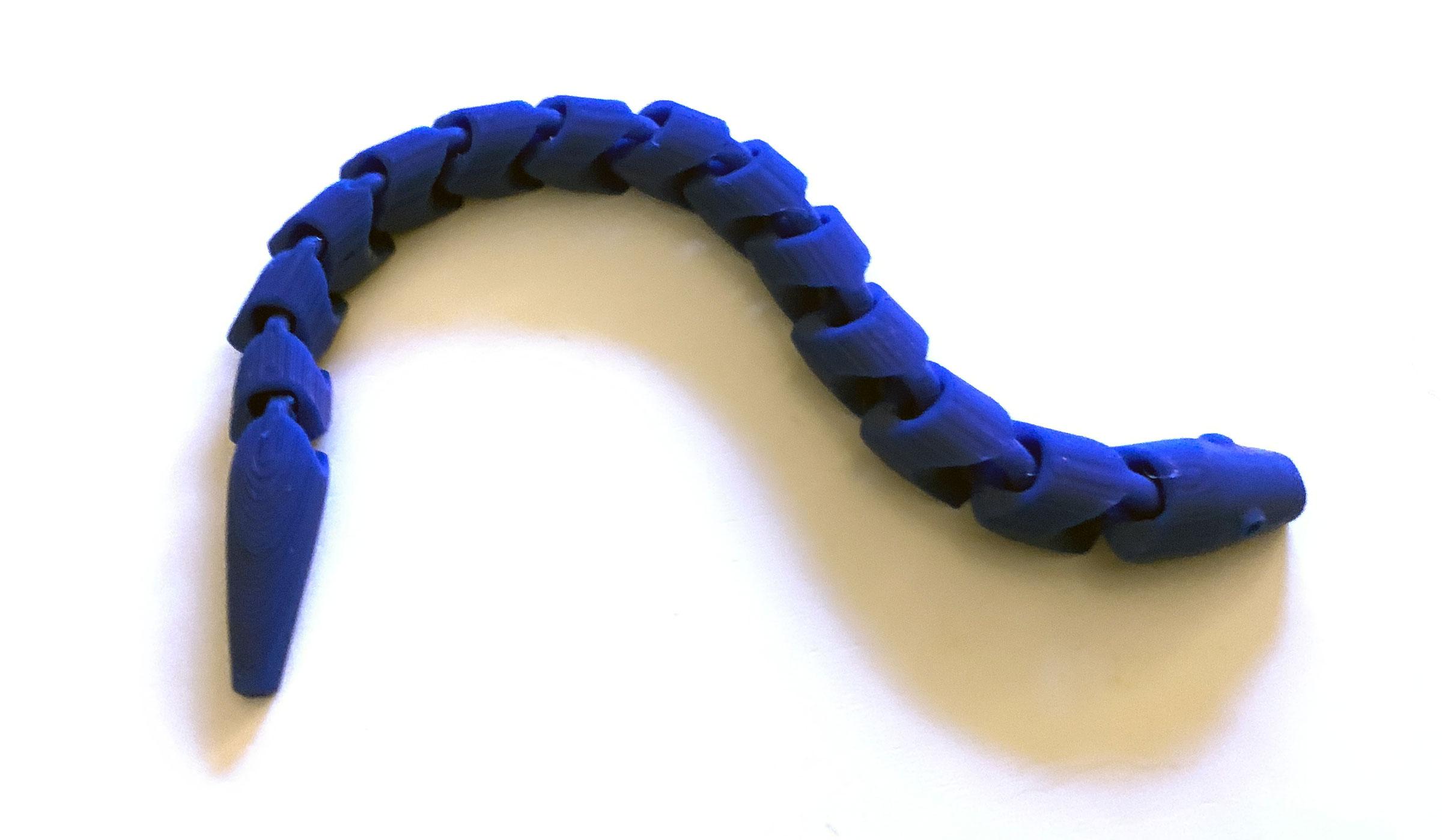 3D-Schlange